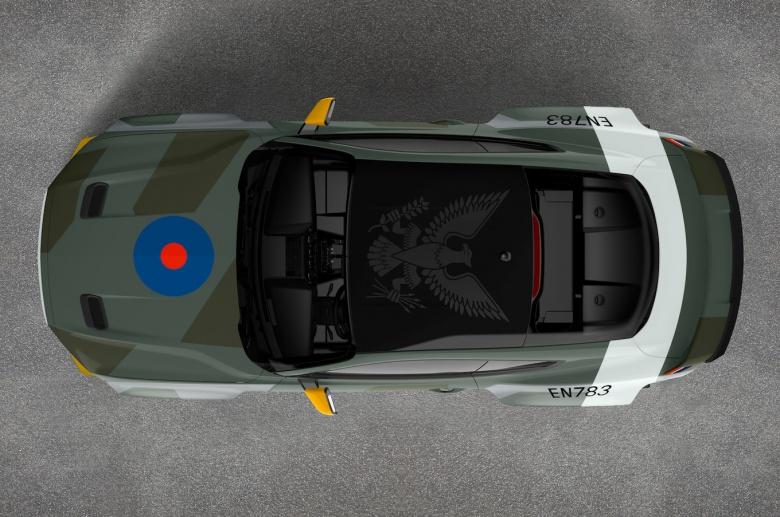 Ford оформил Mustang в стиле истребителя 3