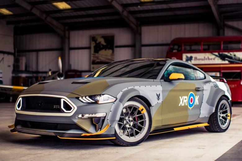 Ford оформил Mustang в стиле истребителя 1