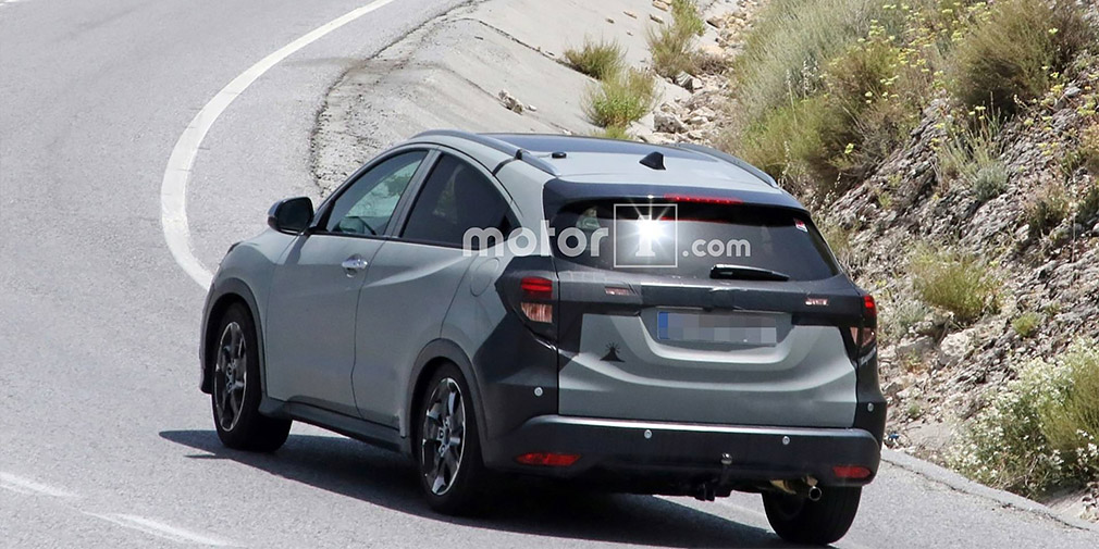 Обновленная Honda HR-V для Европы замечена на тестах 1
