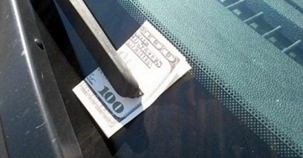 Как угнать автомобиль с помощью 100 долларов 1