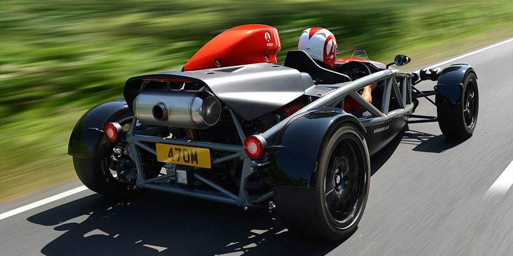 Компания Ariel максимально переделала трековый спорткар Atom 1