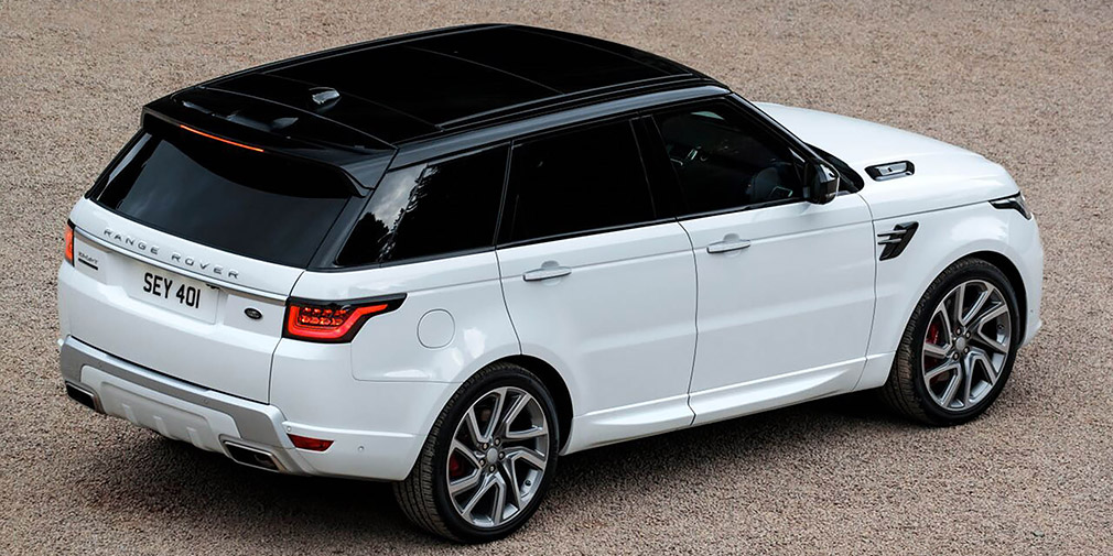 Land Rover презентовал обновленный Range Rover Sport 2