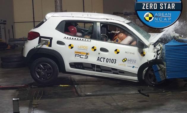 Renault Kwid вновь провалил краш-тест 1