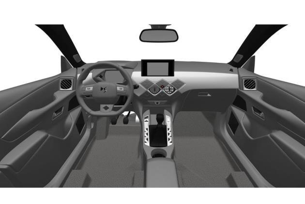 Компания DS запатентовала облик кроссовера DS 3 Crossback 2