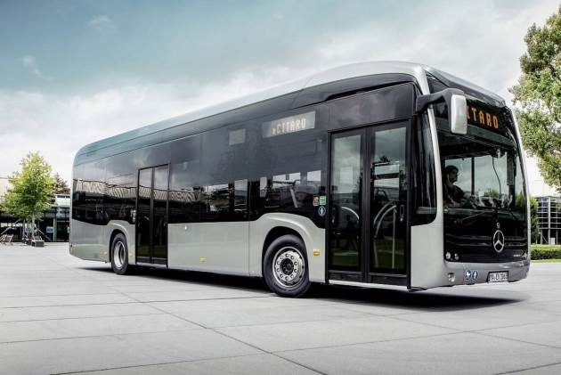 Стартовал прием заказов на электробус Mercedes-Benz eCitaro 2