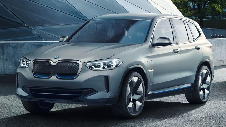 BMW готовится к выпуску кроссовера ix3 в Китае 1