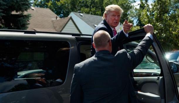 Водитель Трампа обвинил его в жадности 1