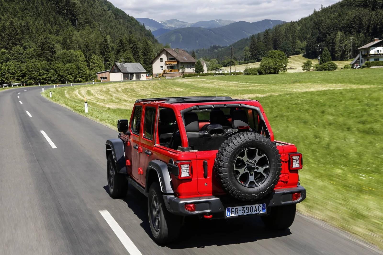 Новый Jeep Wrangler придет в Европу осенью с двумя двигателями 1