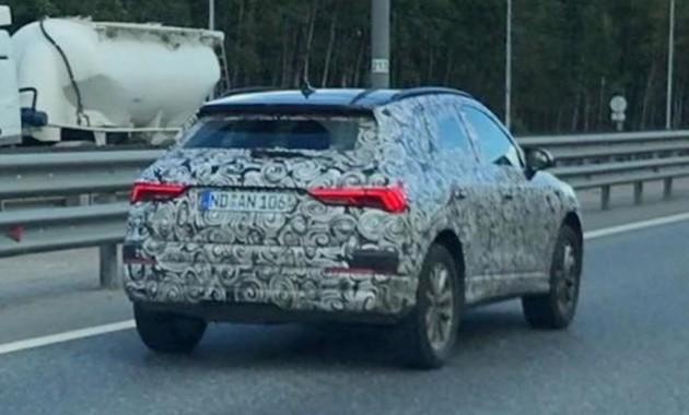 Новый Audi Q3 «выкатился» на тесты 1