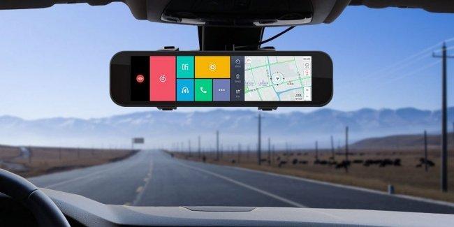 Компания Xiaomi сделала умное зеркало заднего вида 1