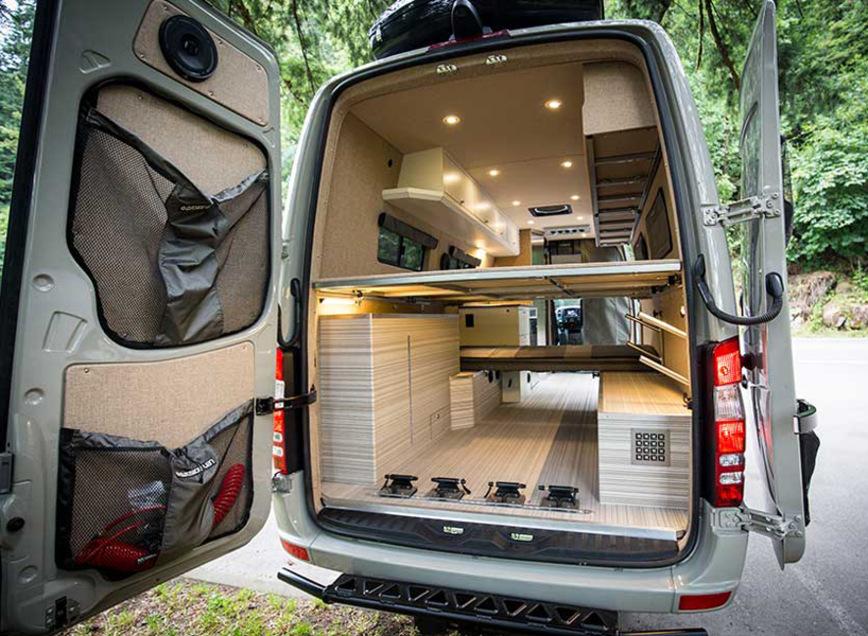 Из Mercedes-Benz Sprinter сделали шикарный дом на колесах 2