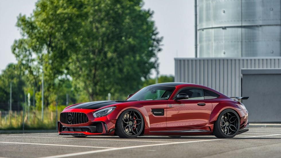Mercedes-AMG GT S получил спортивный «костюм» от Prior Design 2