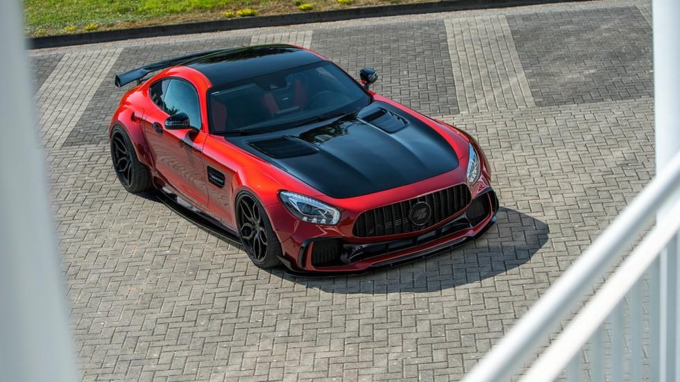 Mercedes-AMG GT S получил спортивный «костюм» от Prior Design 1