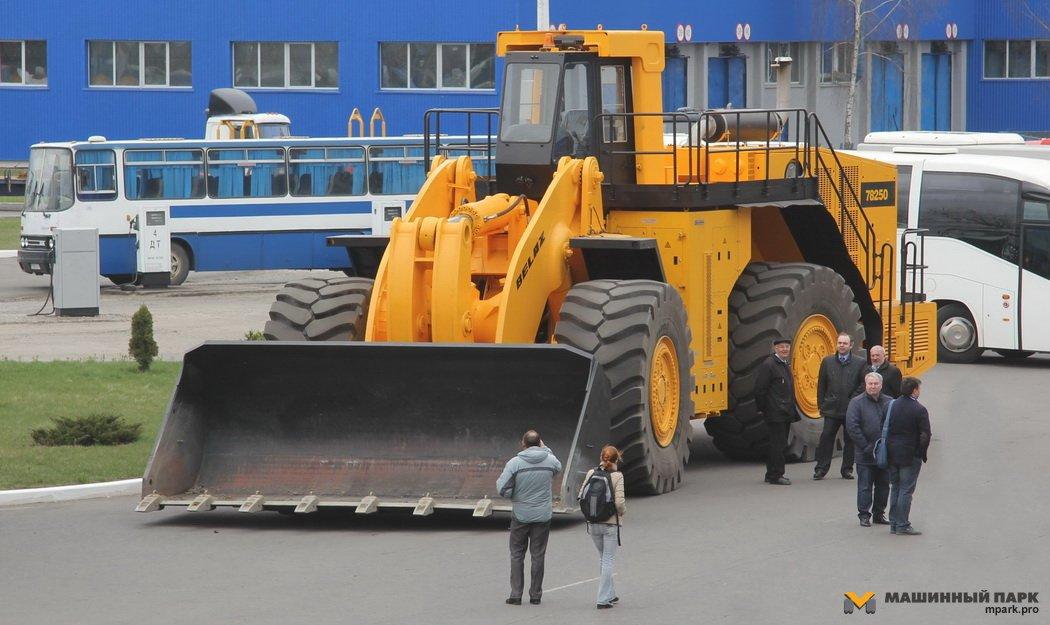 Линейка «БелАЗ» пополнится роботизированным погрузчиком 1