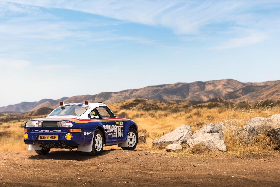 «Дакаровский» Porsche впервые выставят на торги 2