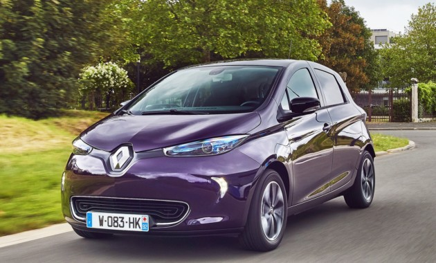 Renault Zoe перейдет на новую платформу 1
