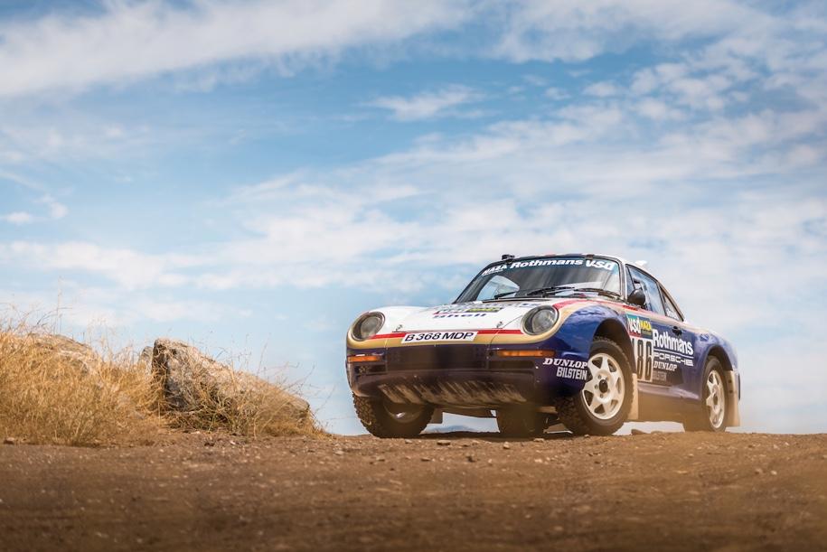 «Дакаровский» Porsche впервые выставят на торги 1