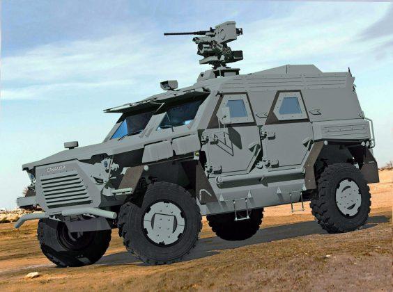 В Украине разработают и построят новую тактическую бронемашину 1