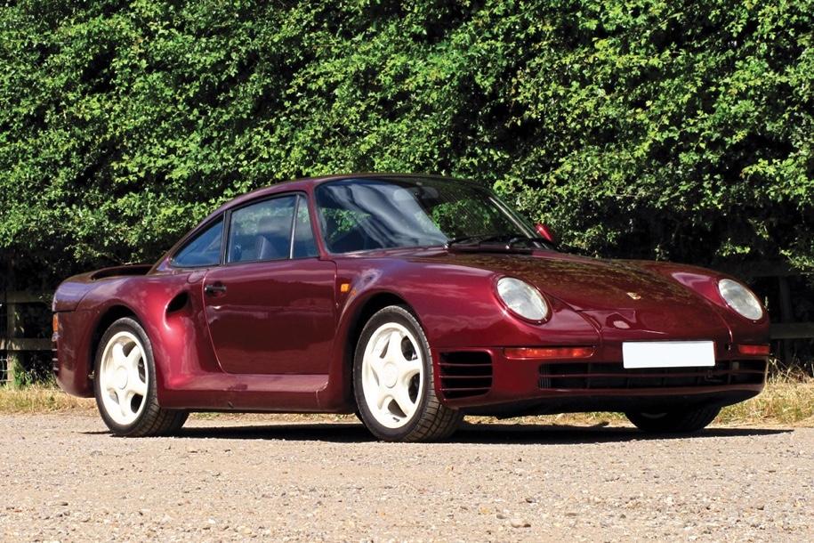 «Дакаровский» Porsche впервые выставят на торги 4