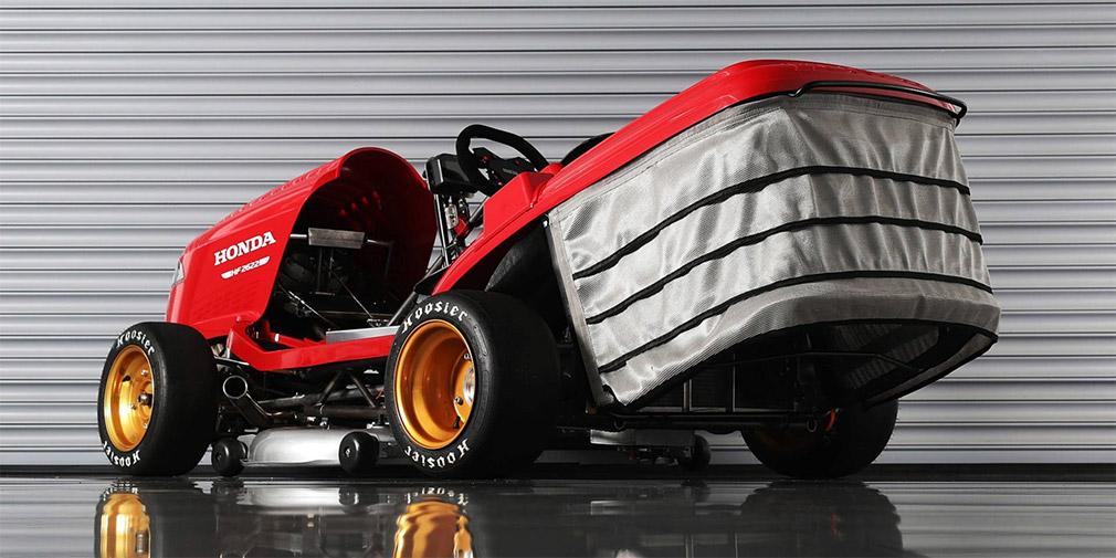 Honda разработала газонокосилку, которая сможет разгоняться почти до 250 км в час 1