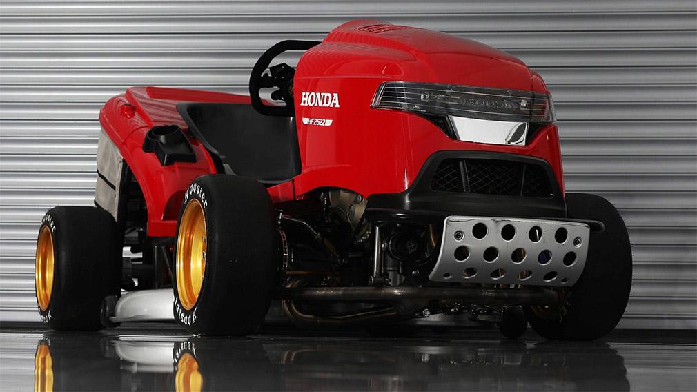 Honda разработала газонокосилку, которая сможет разгоняться почти до 250 км в час 2