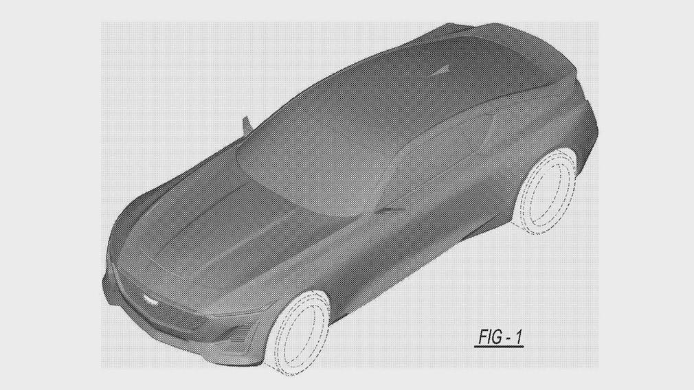 Cadillac запатентовал роскошное купе 1