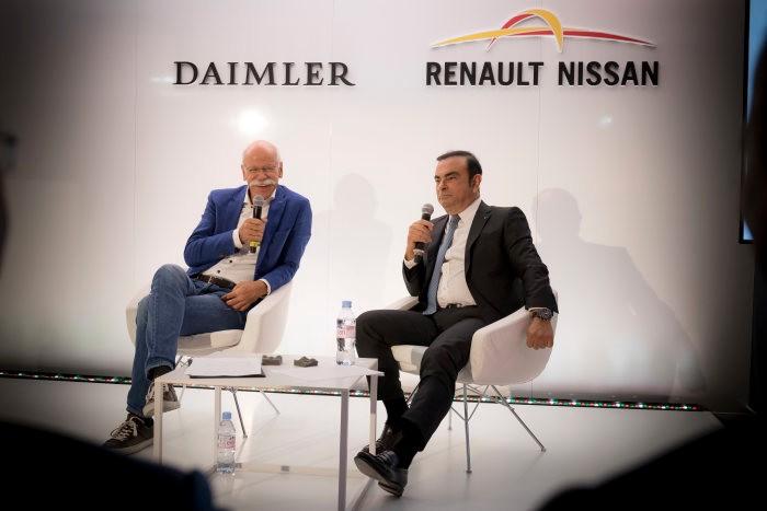 Nissan «ставит на паузу» совместные разработки с Daimler 1