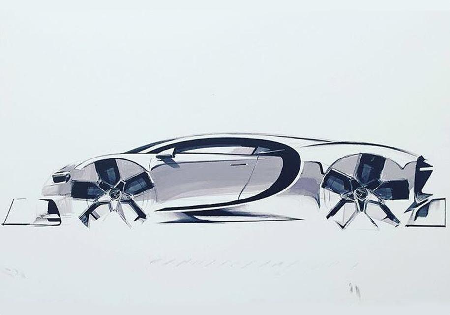 Bugatti построит очень быстрый Chiron за пять миллионов евро 1