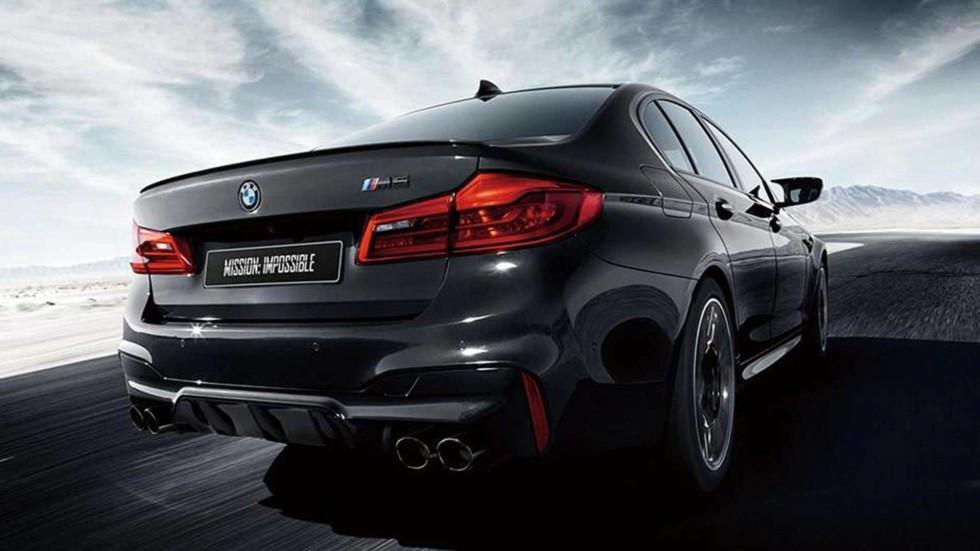 BMW подготовила 5 Series в честь фильма «Миссия невыполнима» 4