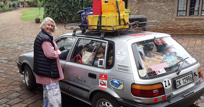 81-летняя автолюбительница проехала за рулем 12 000 километров 3