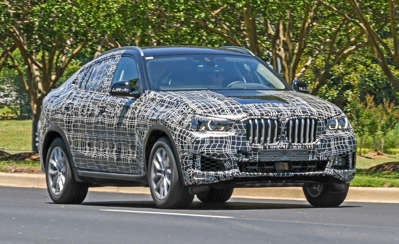 BMW X6 2020 попался фотошпионам 1