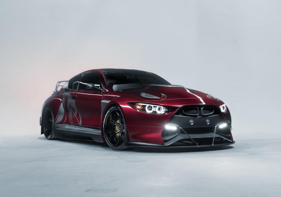 Тюнеры превратили BMW M4 в 750-сильное купе Mamba GT3 —  AutoMP