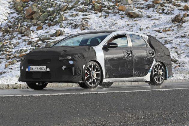 Шпионы заметили «заряженный» Kia Proceed GT 1