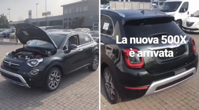Рестайлинговый «паркетник» Fiat 500X раскрыли до премьеры 1