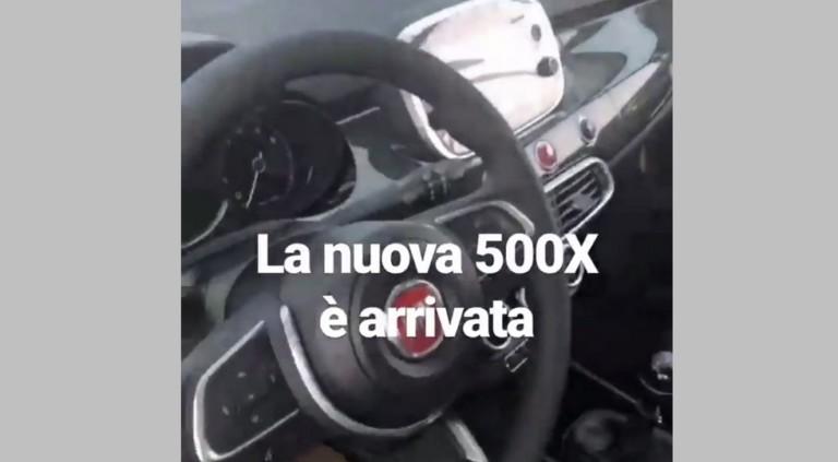 Рестайлинговый «паркетник» Fiat 500X раскрыли до премьеры 2