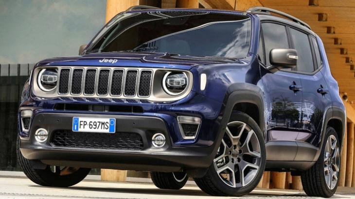 Раскрыты все подробности о моторной линейке Jeep Renegade 1