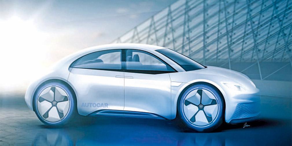 Новый Фольксваген «Жук» будет электромобилем 1
