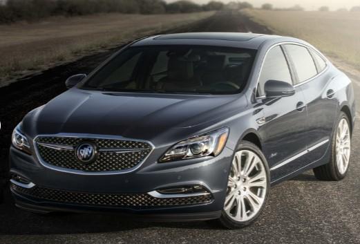 Buick представил обновленный седан LaCrosse 3