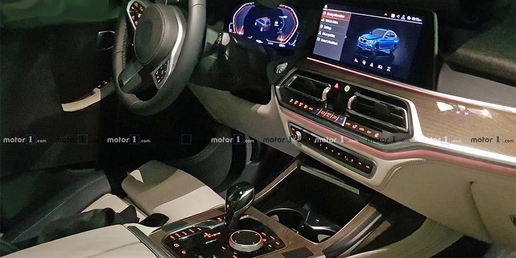 Интерьер серийного кроссовера BMW X7 рассекретили до премьеры 2