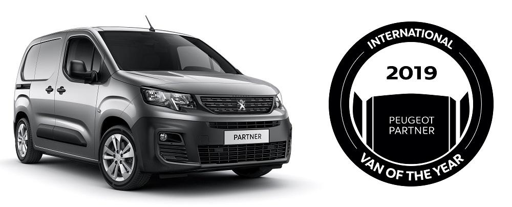 Peugeot Partner был признан фургоном года 1