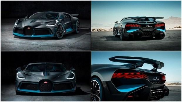 Bugatti готовит новые версии гиперкара Chiron 1