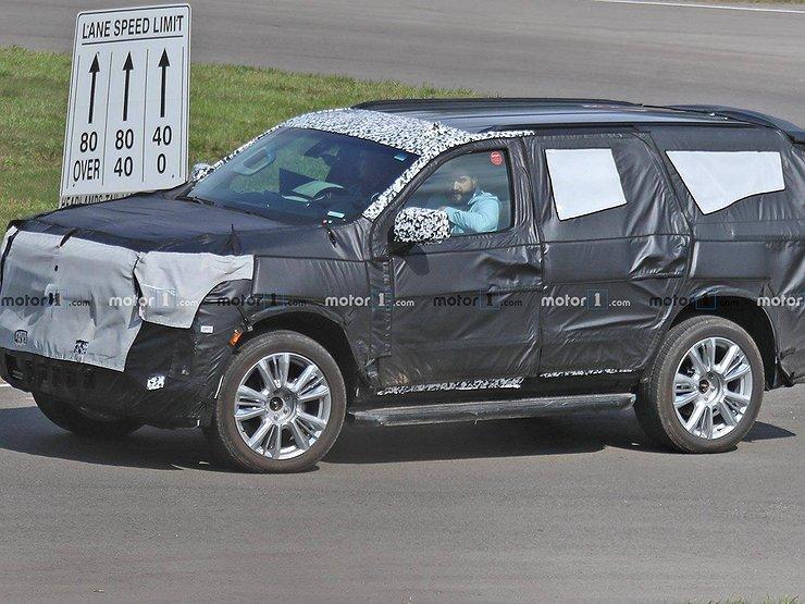 Новый Chevrolet Tahoe впервые замечен на тестах 1