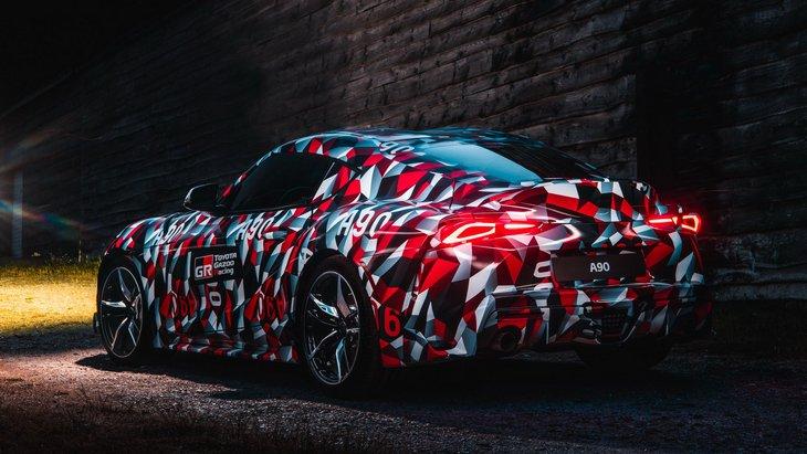 Toyota рассматривала создание Supra со среднемоторной компоновкой 1