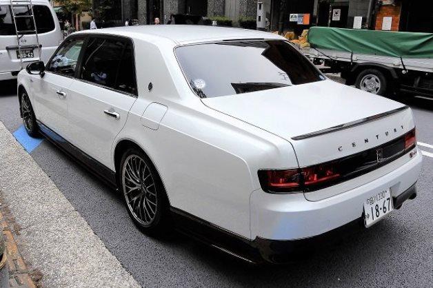 Toyota Century GRMN оказалась штучным экземпляром 2