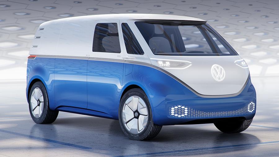 Volkswagen ID Buzz обрел грузовое исполнение 1