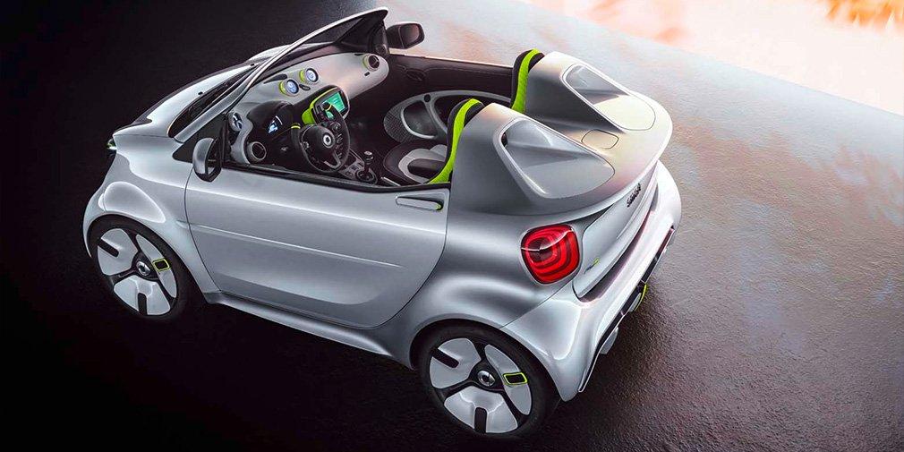 Smart представил электрический родстер 2