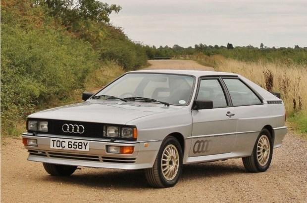 Один из двух сохранившихся прототипов Audi продадут на аукционе 1
