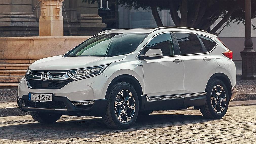 Honda представила обновленный гибридный CR-V для Европы 1