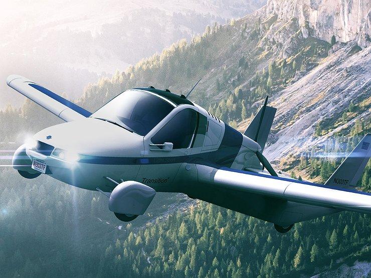 Летающий автомобиль Terrafugia запускают в продажу 1