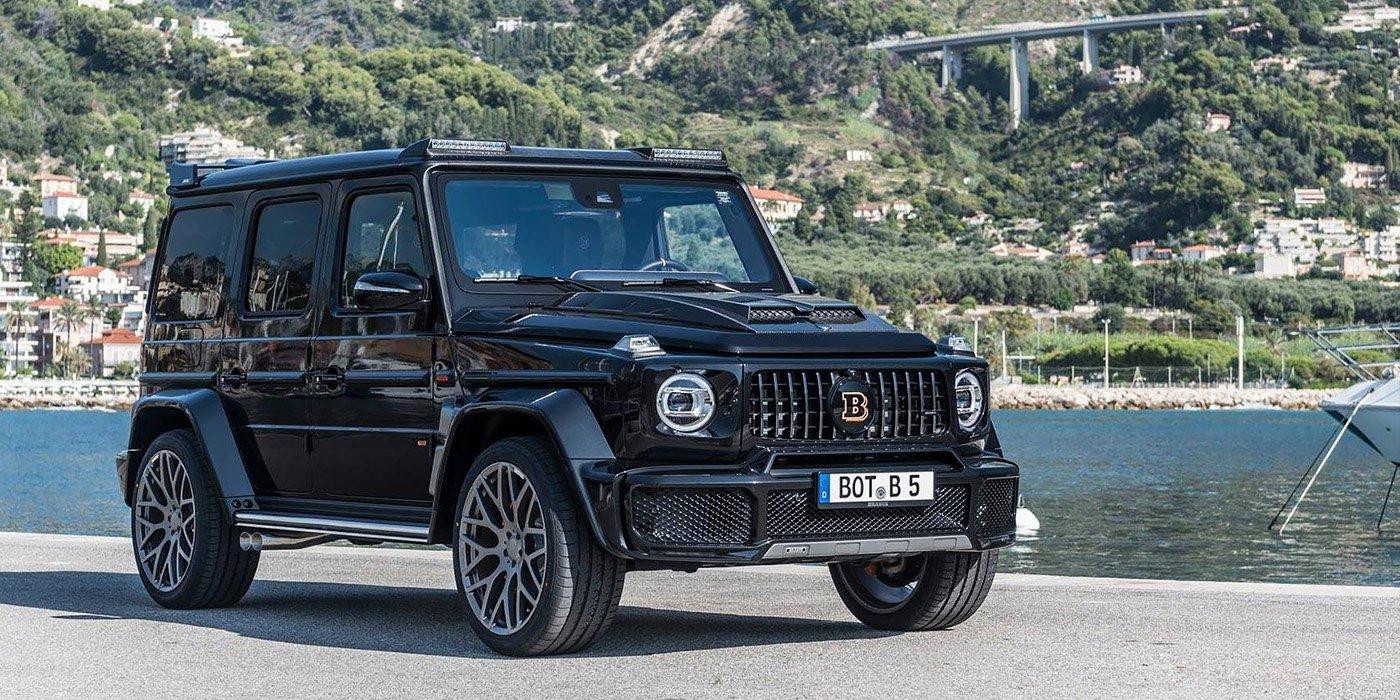 Новый Mercedes Gelandewagen получил сверхмощную версию 1